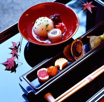 japanese kaiseki dishes