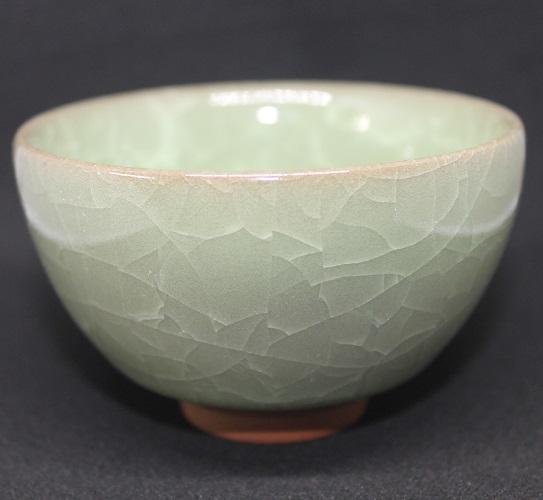 Tesschale celadon grün